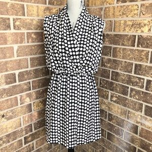 Collective Concepts Polka Dot Midi Dress